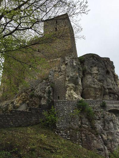 The rock ruin
