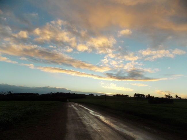 After Rain Country Road Lonely Roads Sky And Clouds Sky_collection Sunset_collection