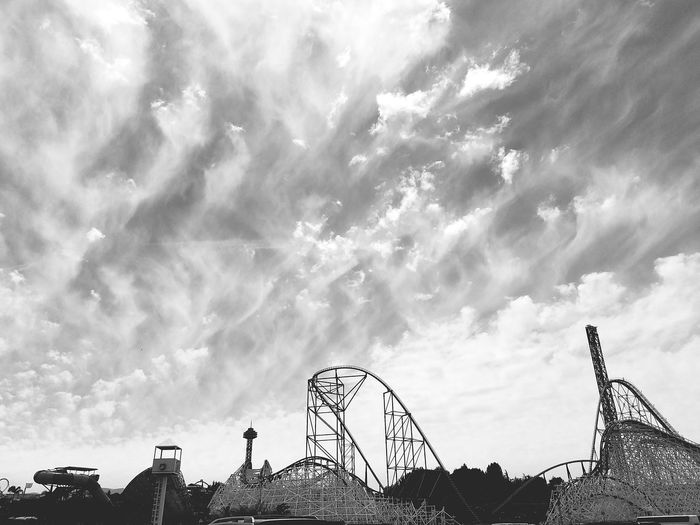 Magicmountain Sixflags Adrenaline Rollercoaster Fun