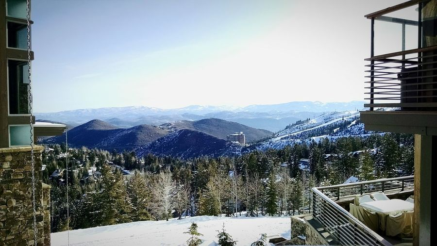 Snow Skiing Ski Parkcity Parkcityutah Landscape First Eyeem Photo