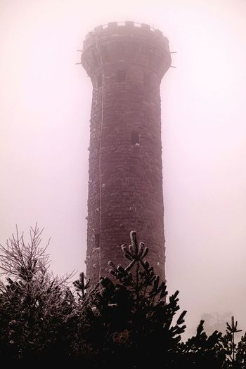 Tower 1890 Tower Old Creepy BIG High Forest Adventure Starting A Trip Nature Beauty In Nature Standing Alone Winter No People Tree Fog Dangerous EyeEm Samsungphotography Photography ınstagram Germany