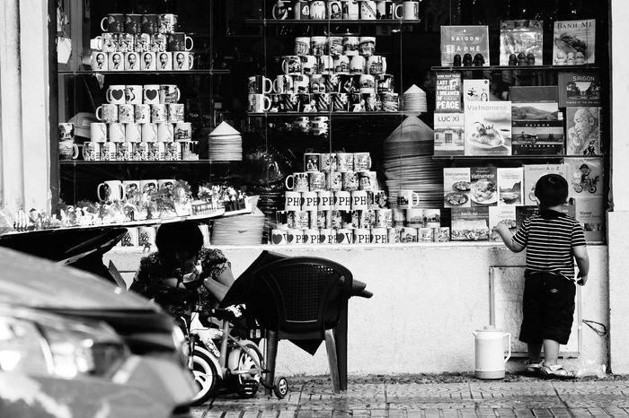 Sometimes childhood memory isn't a dream! #Black&White #ChildhoodMemories #Saigon #VietnamLife Leica Hektor 135 F/4.5 No Retouch Rainy Days Sony A6000