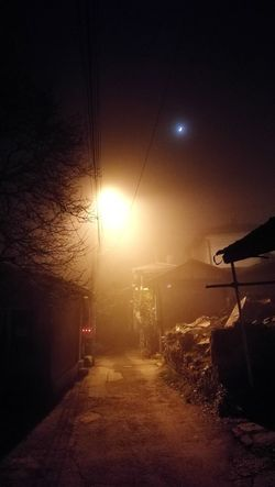 The earth starting to transforms into fifth dimension. The weather start changing abnormal. Congratulation to Mother Gaia! Night No People Moon Sky Outdoors Winter Cold Weather Gaia Mother Nature Foggy Weather Fifth Dimension Bulgaria