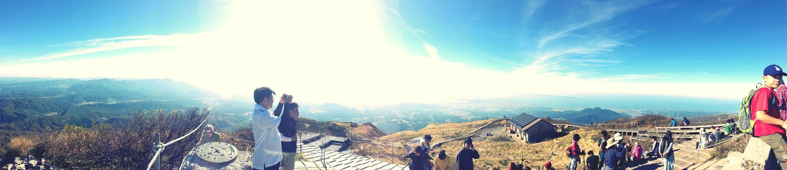 Panorama Mt.Daisen