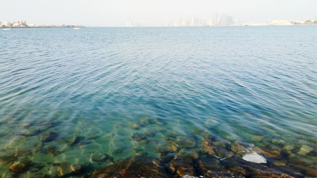 Water Urban Skyline Nature Day Outdoors Sea No People Sky Skyscraper Architecture Beauty In Nature Bahrain Adventure Vacations Bahrain Tourism Photography City Sun EyeEmPaid