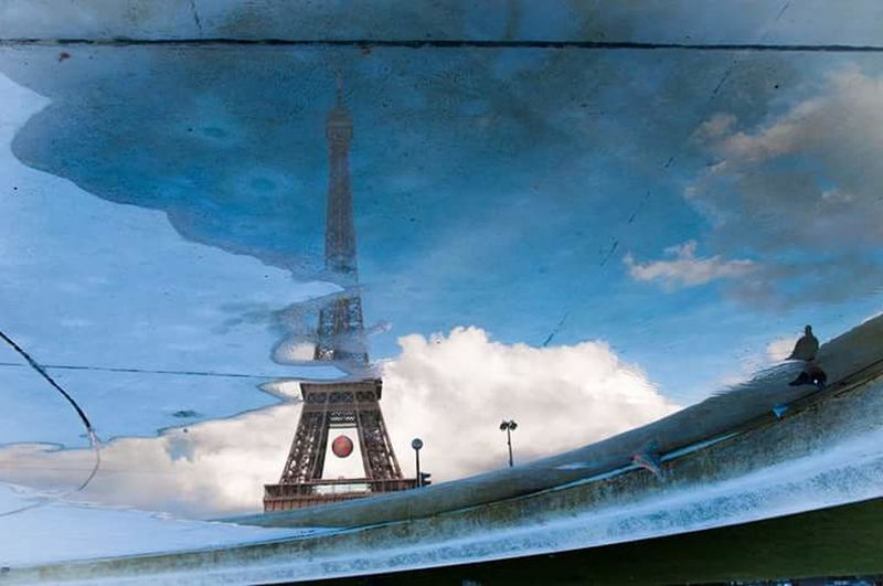 Paris Street Photography Effel Tower Reflection The Week Of Eyeem