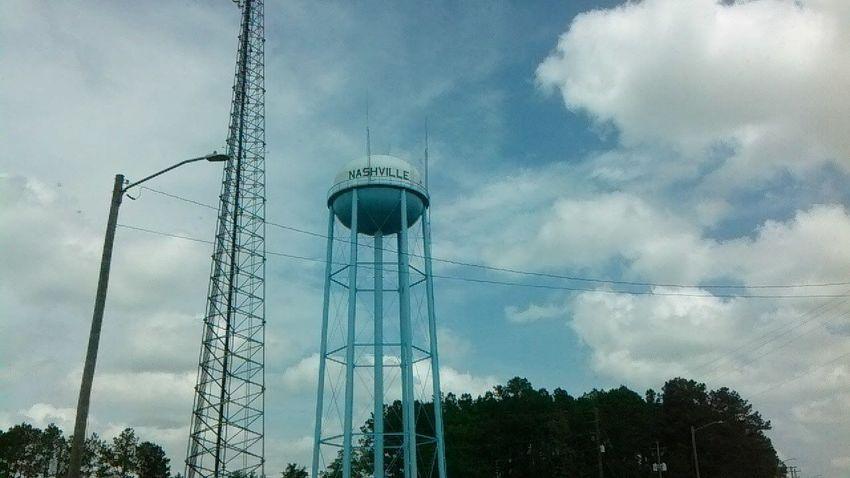 Outdoors Steel Sky Water Tower Water Tower - Storage Tank