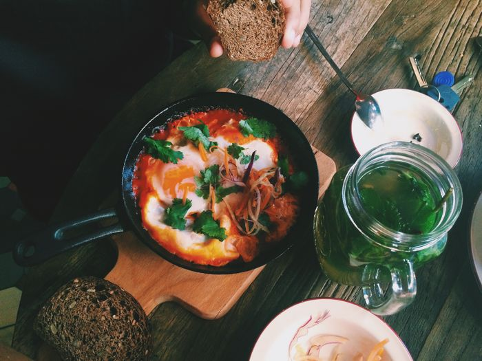 Shakshuka Shakshouka Breakfast Egg Eggs... Huge Breakfast The EyeEm Breakfast Club Breakfast ♥ Brunch Brunch Around The World