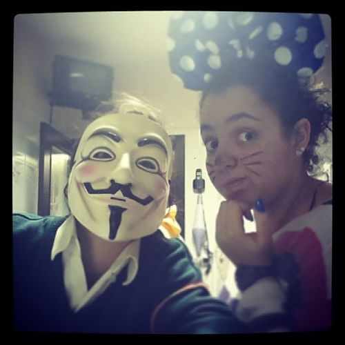 Halloween Me Minney Vendetta friends scary