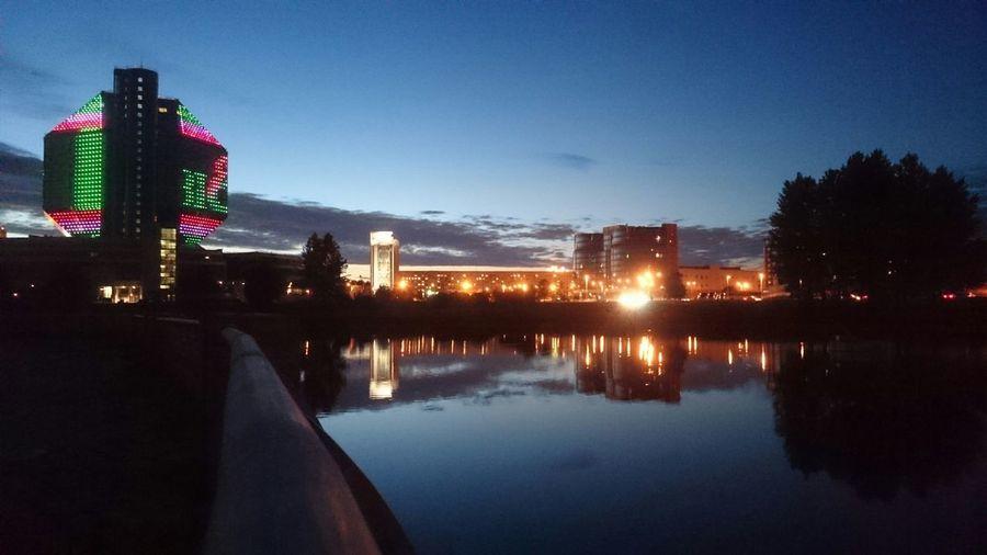 Belarus Minsk Minsk City Minskgram Night Minsk