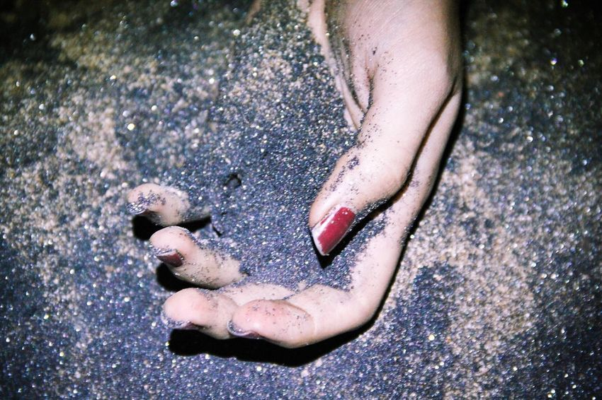 It wasn't meant to end like this High Angle View Human Body Part Sand Close-up Human Hand TCPM