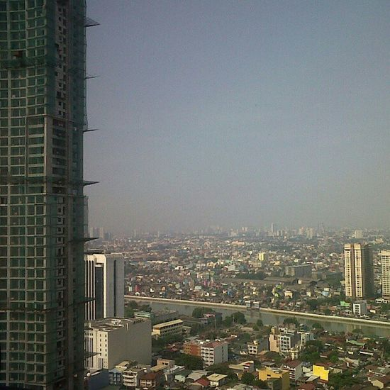 View from Gramercy residences. Knight  bridge on the side