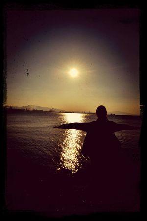 Gunesligunler Huzur... Sunshine ☀ Walking Around OpenEdit Monochrome Landscape Selfportrait Screenshot Fotograftutkusu ?????