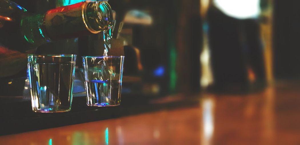 Vodka🍹 Close-up Bar Counter Bartender Pint Glass Bar Bar - Drink Establishment First Eyeem Photo