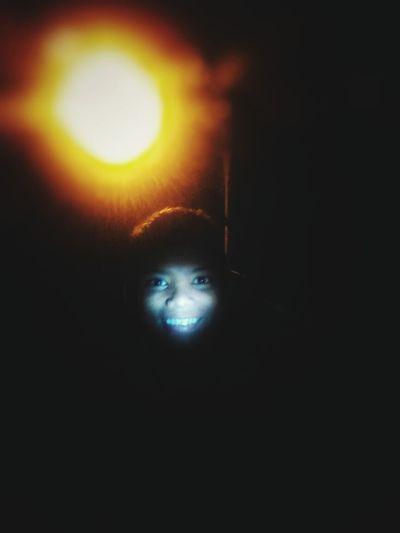 Let me smile besides intense sorrow . An easier way to enjoy the dark night