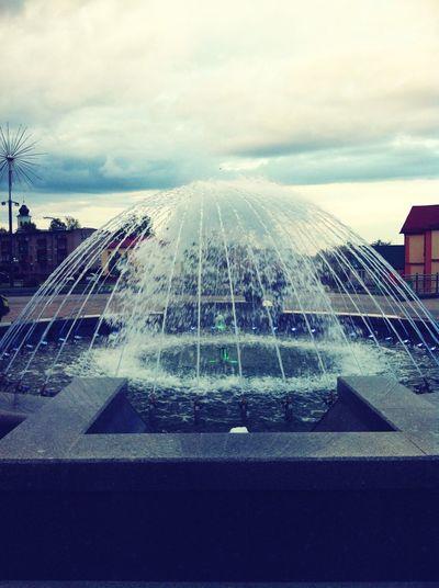Майский фонтан. First Eyeem Photo
