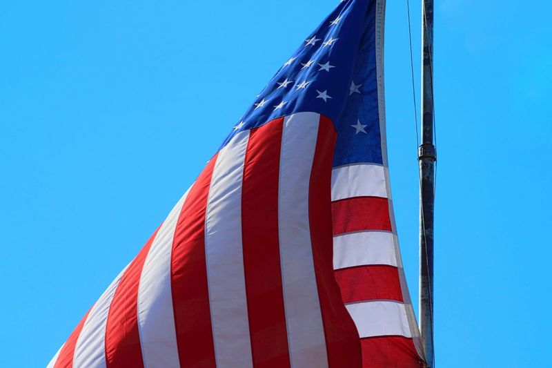 America American Flag Flag God Bless America Patriot Patriotic Patriotism Red White And Blue Stars And Stripes Flag The United States These United State USA