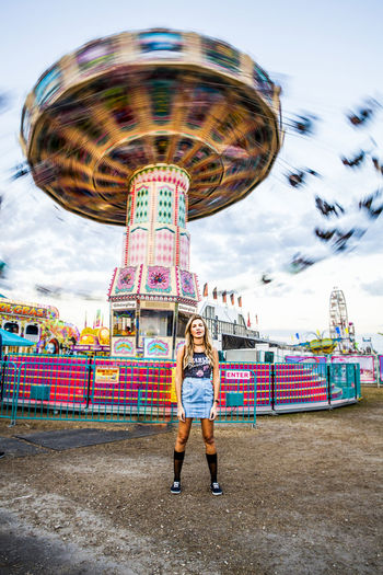 Fun shoot at the Florida State Fair! Florida Life Photography Carnival Colors Of Carnival Model Beautiful Girl People Florida People Photography Color Beautiful Day Tampa Photographer Check This Out Lovemyjob Motion Motion Blur Blonde Attitude Girl Colorful Photo Canon Enjoying Life Taking Photos