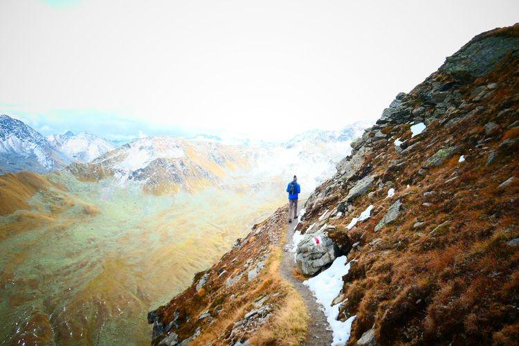 late fall hiker