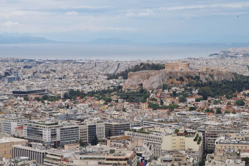 Acropolis Athen Atina Greek GREECE ♥♥ Greece Athens Greece Athens City Athens, Greece Athens Acropolis, Athens Akropolis Acropolis Architecture City Cityscape Building Exterior Built Structure Building Sky Nature High Angle View Crowd Sea Travel Travel Destinations Outdoors Aerial View 17.62° My Best Photo
