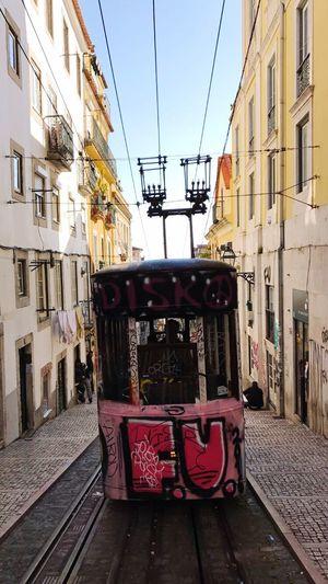 EyeEmNewHere Tram Lisbon Portugal
