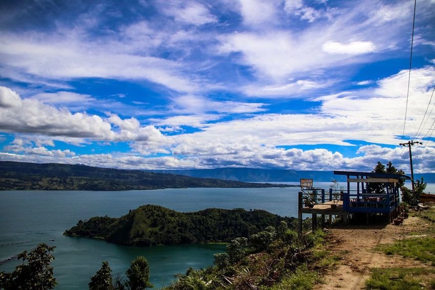 Cloud - Sky Nature Mountain No People Water LakeToba  Indonesia_photography Mountain Range Photography