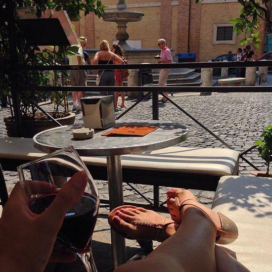 This. LivinginRome Dolcevita  Roma Rome Wine Vino şarap Piazza Square Monti Streets Cafe Cafés Streetlife Life Enjoying Life Enjoy Love Happy Summer Pleasure Life's Simple Pleasures... My Best Photo 2015