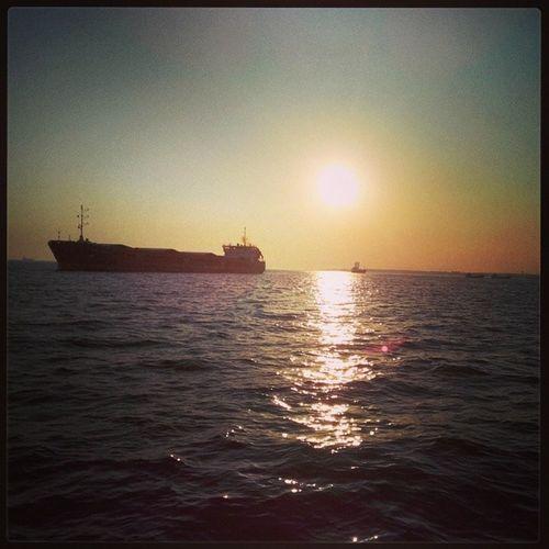 Guzellik Gunbatimi Instaturkey Istanbul deniz sea hayatim