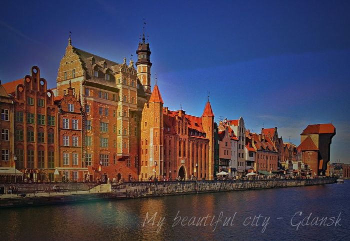 My beautiful Gdansk :) My3miasto Gdansk_official Tricity Gdansk (Danzig) Trojmiasto Igersgdansk Gdanskiekadry Mycity 3city Beautiful