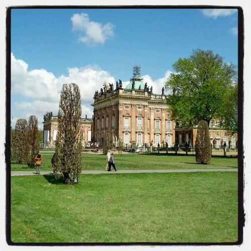 Taking Photos Historic Potsdam Sans Souci Castle
