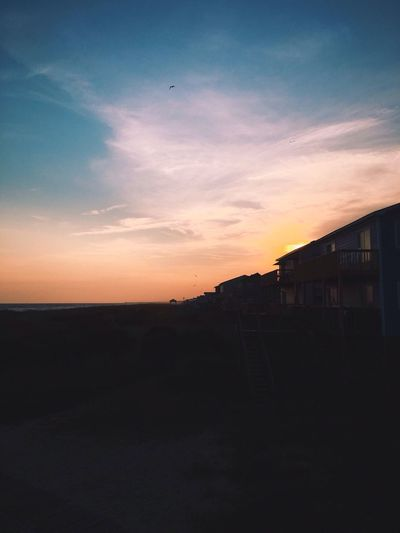 very grateful for sunsets Sun Beachphotography IPhoneography House The Great Outdoors - 2016 EyeEm Awards VSCO Vscocam House Shadows Dunes Beach Photography