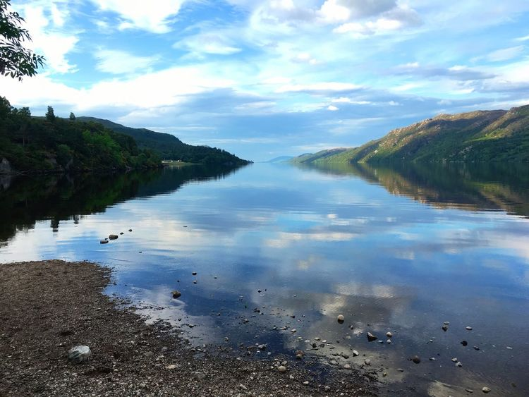 Loch Ness Water Water Reflections Scenery Scenery Shots Nature IPhoneography