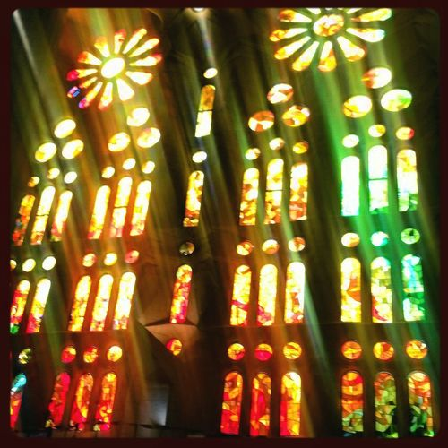 Lights And Shadows Sombras Y Luces... Luz The Week Of Eyeem Lights Barcelona, Spain Sagradafamilia Point Of View