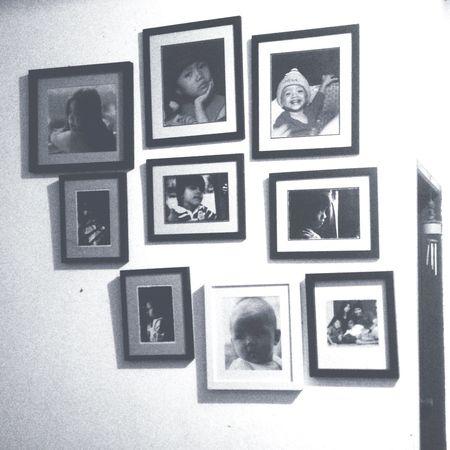 Wall frames Blackandwhite INDONESIA