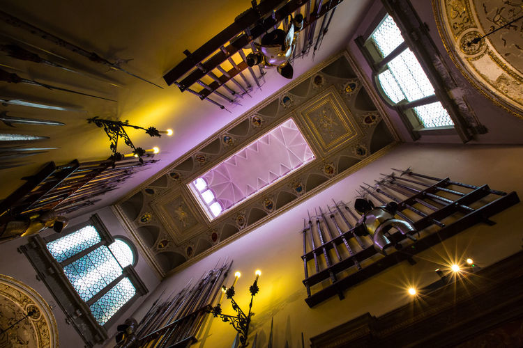 bagatti valsecchi museum Architecture Army Beautiful Color Colorful Colors Composition Culture Exploring Geometry Light Light And Shadow Medieval Milano Museum Perspective Photography Photooftheday Purple Room Visiting Walking Around Window Windows Yellow