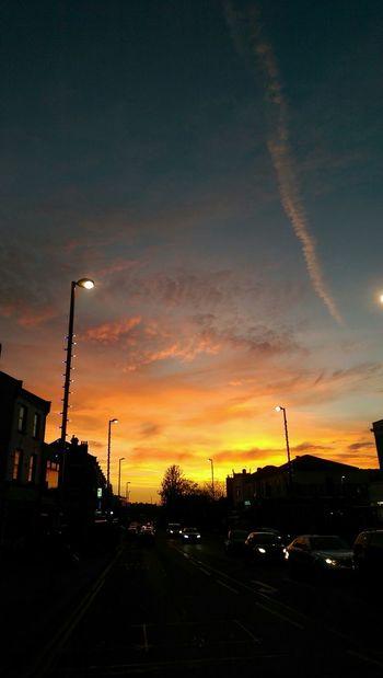 Light Evening Sunset Cloud - Sky