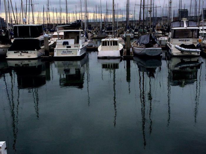 EyeEm San Francisco Meetup January 2014 Reflection Water_collection Sailboat