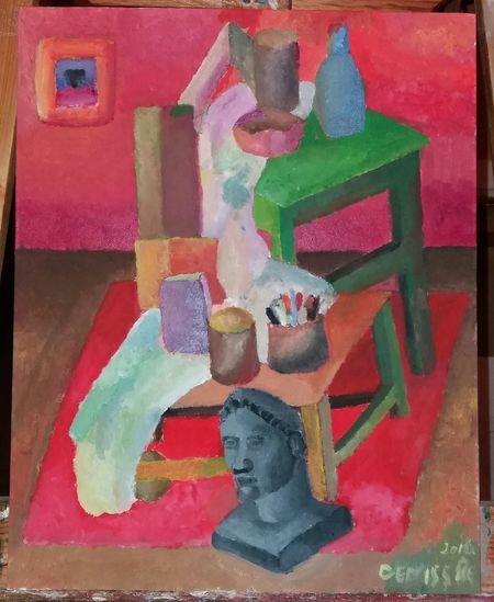 "My new painting ""The grandmother in love"" by Deniss Re/ Meine neus melerei ""Die Großmutter in liebe"" Art ArtWork Kunst Acrylic Conceptual Concept Acrylicpainting  Malerei Male Bilde Europen Artist"