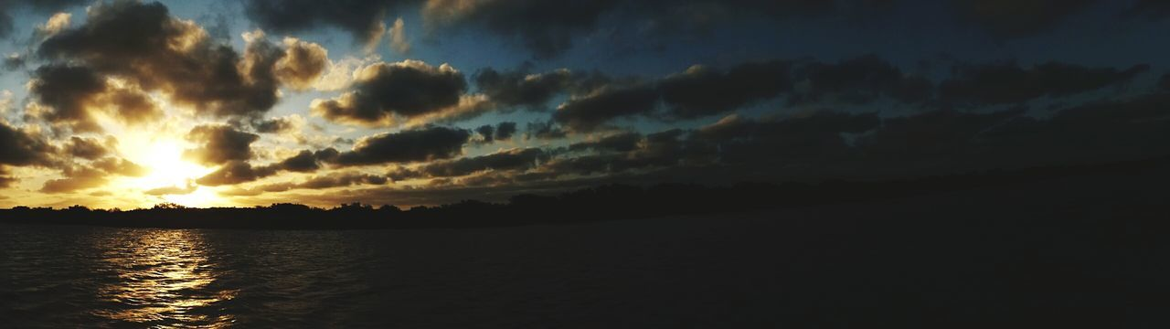 Fresh On Eyeem  Sunset_collection Sunset Sun Sun Through The Clouds Panoramic Panoramic Photography Panoramic View Sunset Cruise  Lake Sunset Over Lake Water Estuary St Lucia Wetland Park Estuary Africa African African Sunset Showcase June