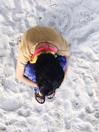 🌞 Me :)  One Person Lifestyles Beach