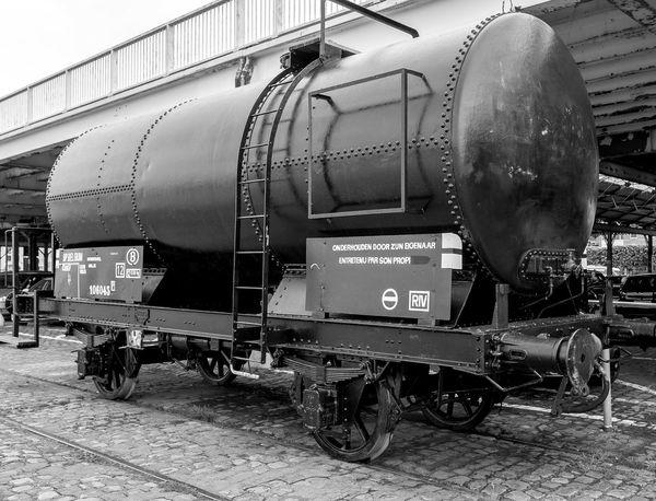 BP Tank waggon, Jordaenskaai, Antwerp Waggon BP Railway Antwerp Black And White FUJIFILM X-T10 Antwerp, Belgium Belgium Monochrome Docks Dockside