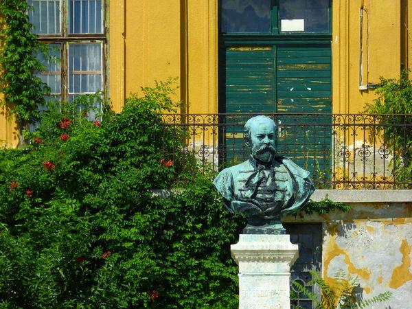 Budai Arborétum díszkert Arboretum Built Structure Colors Creativity EyeEm Best Shots Lumix No People Outdoors Residential Structure Statue
