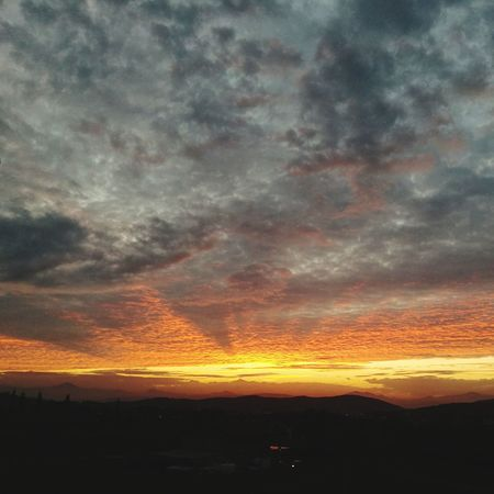 Sunset Tranquility P9 Huawei Sky Colors Nature Autumn Eye Em Nature Lover Sannio EyeEm Best Shots Lost In The Landscape Cloud - Sky Tranquil Scene Secret Places Ray Of Light Huaweip9photos Clouds Landscape Day Scenics Mountain Rural Scene My Year My View