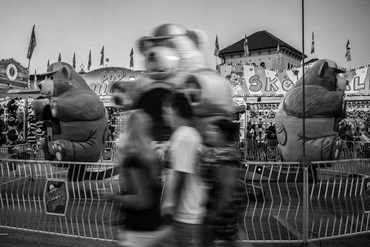 Life In Motion Shades Of Grey Carnival Enjoying Life Blackandwhite Eye4photography  EyeEm Best Shots Indianapolis