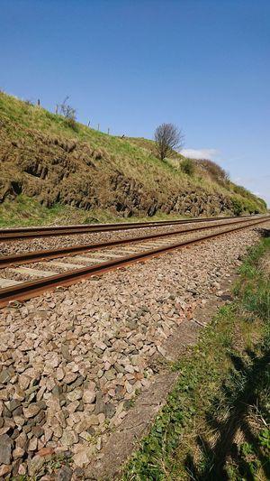 Railway to somewhere Railroad Track Sony XZ Danger Travel Rural Scene Pattern Sky
