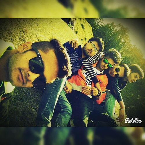 Boot_camp_2k15 On_the_top_of_hills Patnitop_hills Friends_selfie_time college_friends too_much_fun 😎🙌👌 P.C :- @choudhary_harpreetsingh