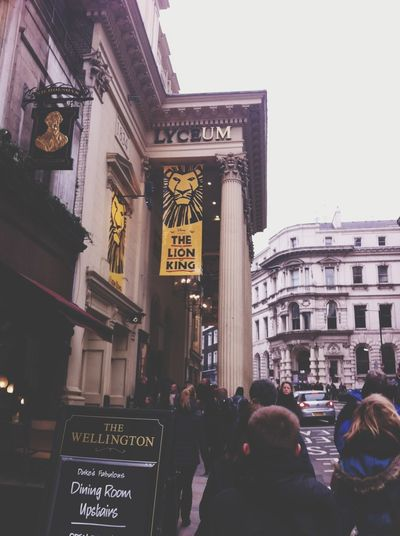 The Lion King in London was perfect ! London Thelionking Theater England