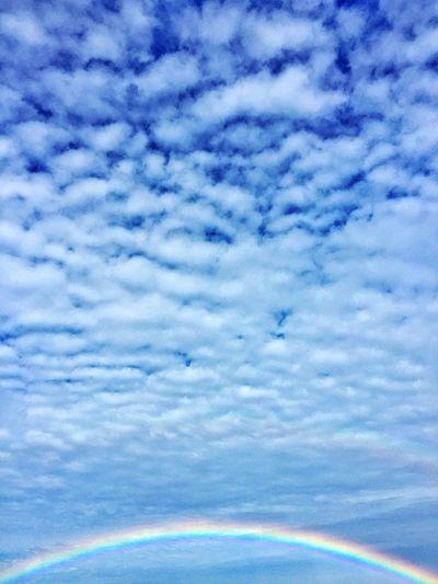 Somewhere over.. Beautiful Beach Rainbow Sky Clouds EyeEm Nature Lover EyeEm Best Shots Nature Eye4photography  EyeEmBestPics