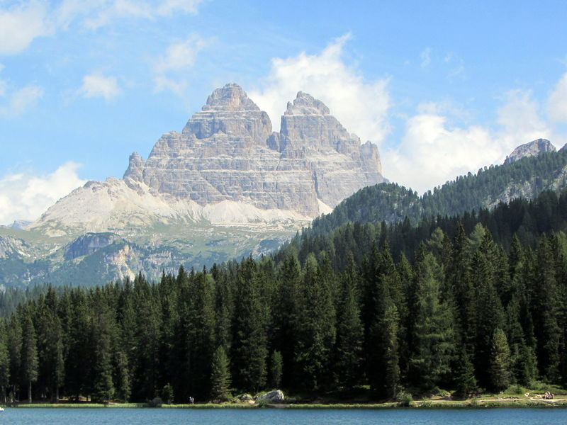 Beauty In Nature Clouds And Sky Day Dolomites, Italy Dolomiti Italy Forest Photography Lago Di Misurina Lake View Misurina Mountain Mountains Nature Outdoors Rocks Scenics Sky Tranquil Scene Tranquility Travel Travel Destinations Tree Physical Geography Landscape Italy Home Is Where The Heart Is