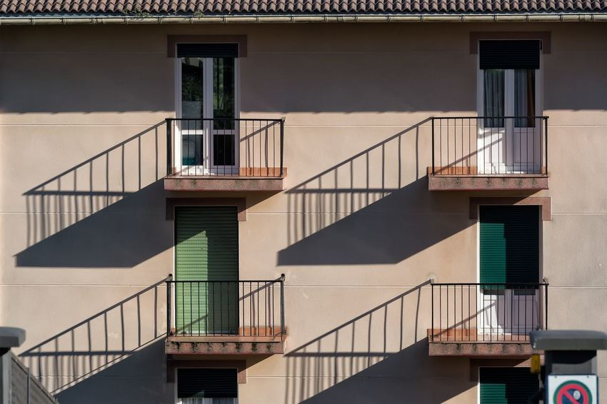 Orio Gipuzkoa Spain. Building Architecture Building Exterior City Street Check This Out Shadows & Lights Pattern, Texture, Shape And Form No People Abstract Patterns SPAIN Window